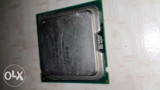 CPU Core 2 duo E7500