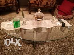 coffee glass table