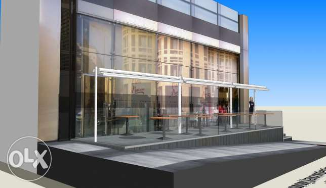 3D DESIGNER for your AWNINGS and store facades انطلياس -  2