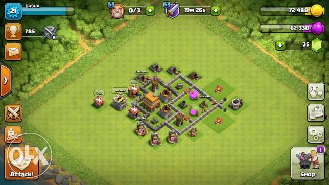 Th4 clash of clans