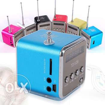 FM radio and MP3 player (available in black color only)