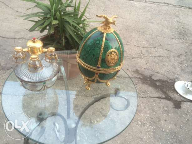 faberge egg , imperial collection vodka