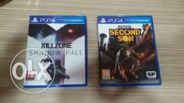 Second son&killzone shadow fall