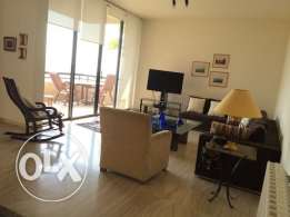 BAABDA Furnished apartment 3 bedrooms for rent with open view