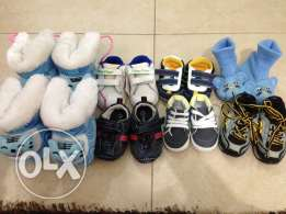 baby accessories and shoes