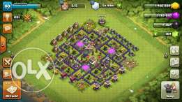 Clash of clans map for sale