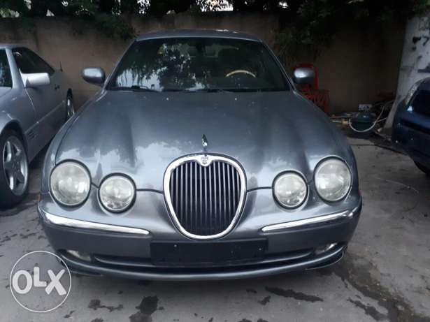 Jaguar s type 2004
