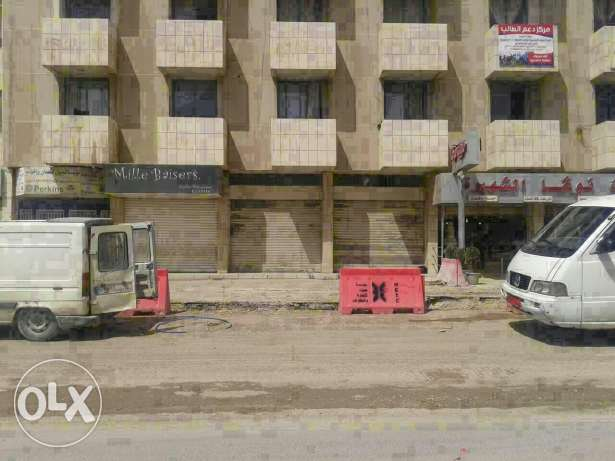 Shop  for rent zahle fourzol main road highway