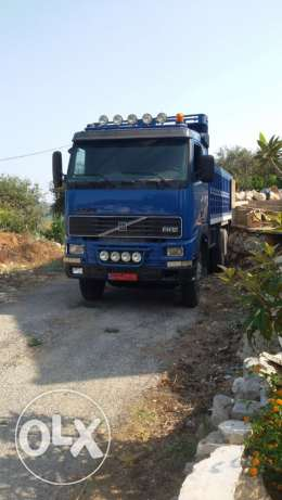 Volvo truck super clean FH 12 model 1996 blue color
