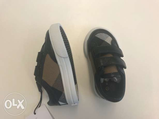Original and brand new Burberry kids shoes