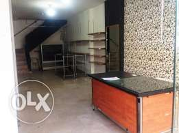 SHOP for rent,JDEIDEH 90m