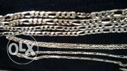 9.25 Sterling Silver extremely heavy Mens Chains