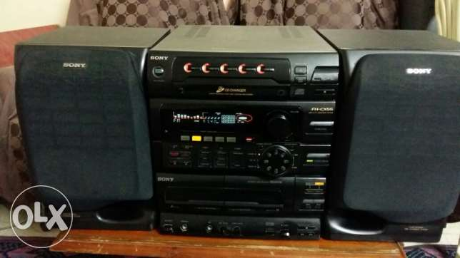 Sterio + super DVD CD + amplifier