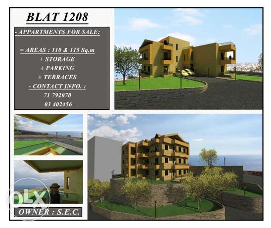Apartments for sale st blat jbeil