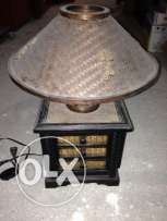 For sale wood lamp