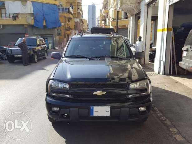 Trail Blazer LTZ-2005-Black-Beige Leather-Sunroof-0 Accidents-1 Owner أشرفية -  1