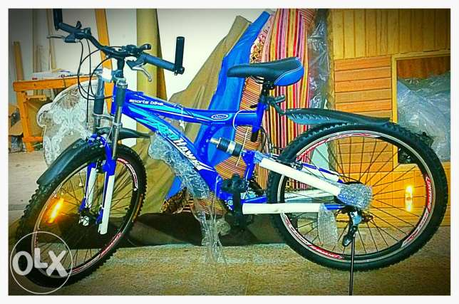 bike with guarantee for one year + sale from 210$ to be 130$ الصالحية -  1
