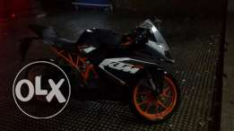 Good as new KTM RC 200, only used for 3800 kilometer, used for 4 monthes. For sale