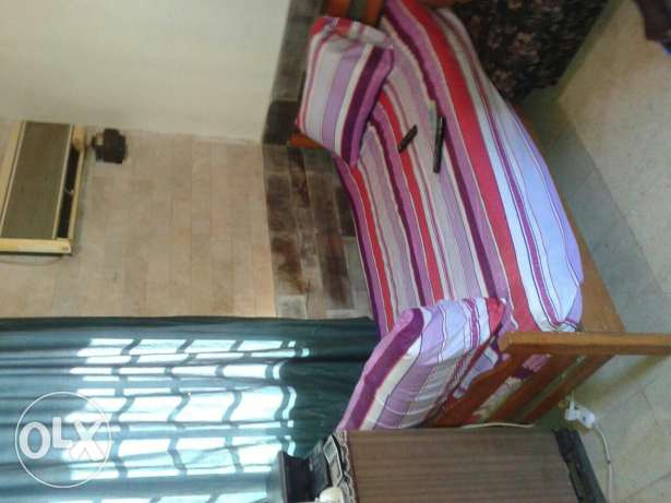 Chalet furnished for rent in bouar 350 $ / months main road parking كسروان -  1