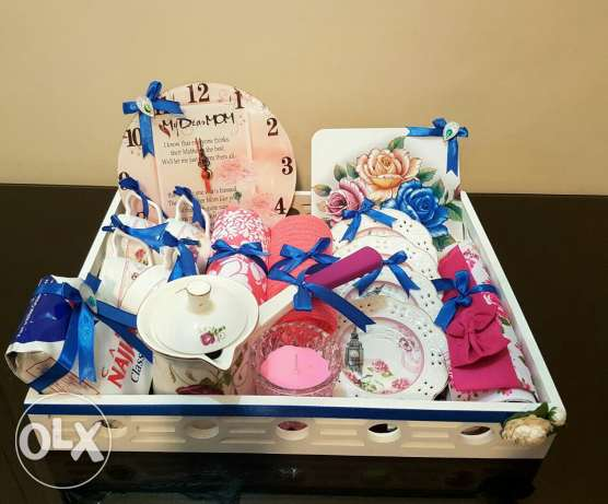 gifts tray