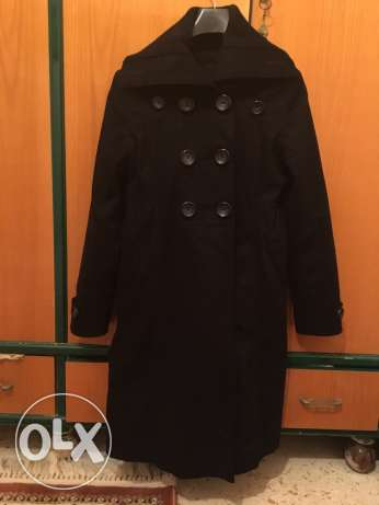 coat jacket black جاكيت اسود