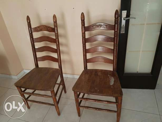 Special highe quality wooden chair
