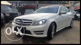 Mercedes C250 AMG Kit 2012 White!