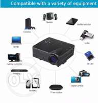 HomeTheater Game Projector Support PC Laptop Full HD 1080P Video With