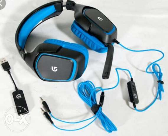 Cloud9 headset logitech gaming جديدة -  3