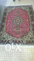 Persian carpet hand made 135x225 Qoum masterpiece