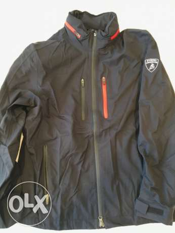 Automobili Lamborghini Men's Sq. Corse Softshell Jacket