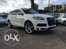 Audi Q7 2010 S Line White Top of the Line in Excellent Condition!