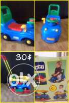 chicco cars,like new ,from 1 to 3 yr