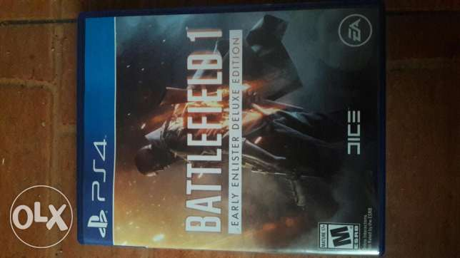 Battlefield 1 for sale ps4 (region all)