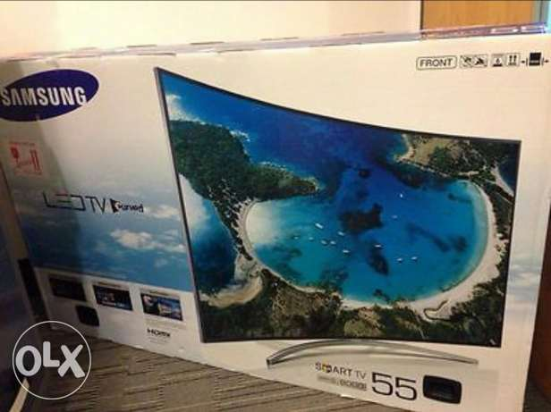 "For sale curved 55"" seri 8000"