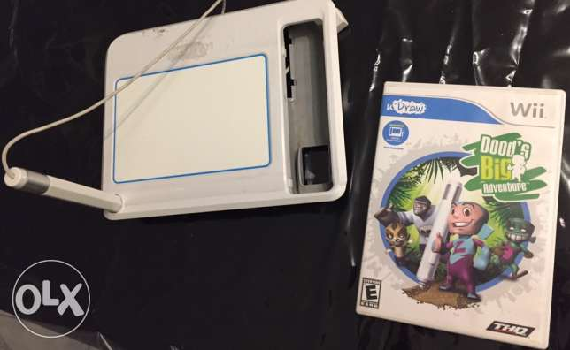 wii uDraw game +uDraw Game Tablet
