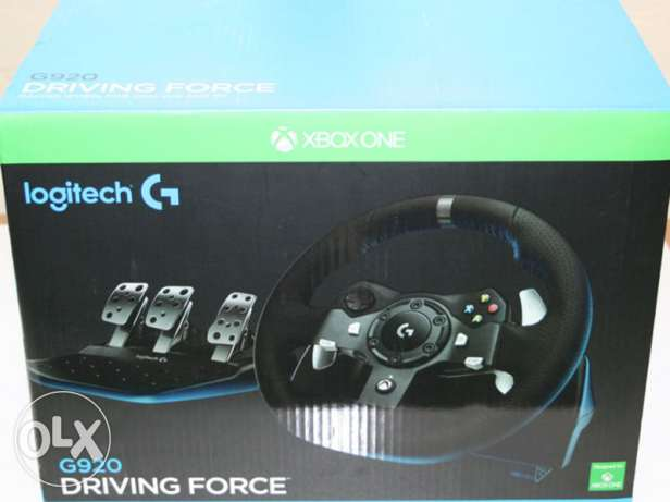 Logitech driving force G920 for Xbox one + shifter