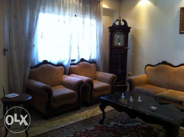 Fully furnished apartment - Ain el remmeneh - for rent