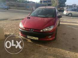 Peugeot 206 sedan in great condition