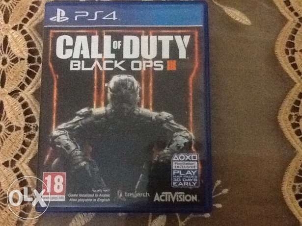 ps4 cd call of duty black ops 3 for sale or trade bfaddil sale حارة حريك -  1