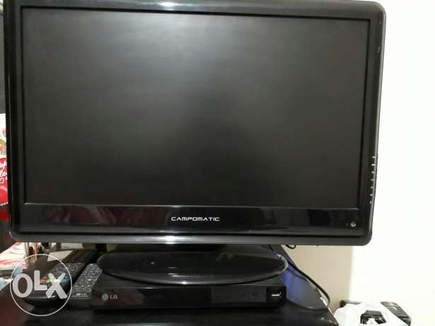 2 campomatic TV + DVD