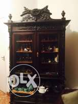 Vitrine for salon Antique