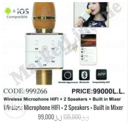 Wireless Microphone For Sale