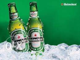 heineken pack (24pcs) bottles. 35000LL instead of 48000LL