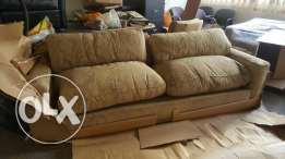 A big sofa made in England