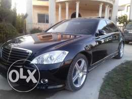 Mercedes S550 W221 keyless go 2008 Look AMG Maxi Fulloption ajnabiye