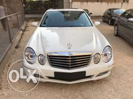 e350 white/blk leather new tires navigation ajnabi