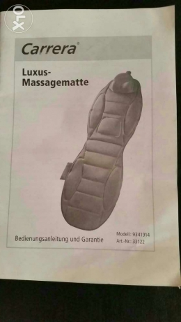 Bed relax massager electronig full remoth controll made in germany