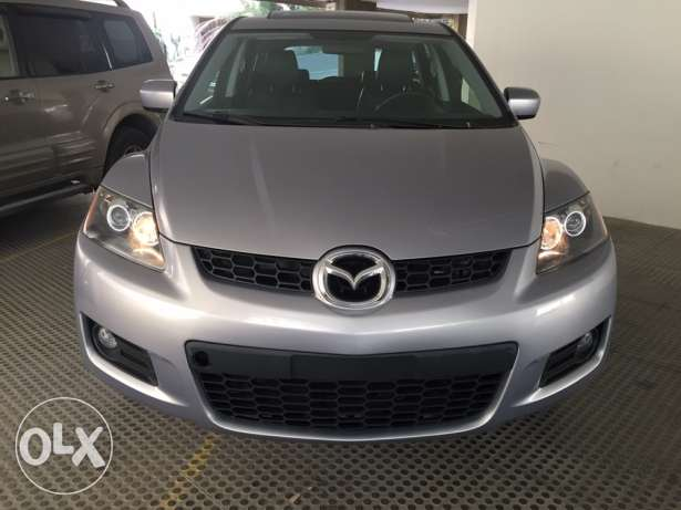 Mazda CX-7 Model 2008 Grey In Black