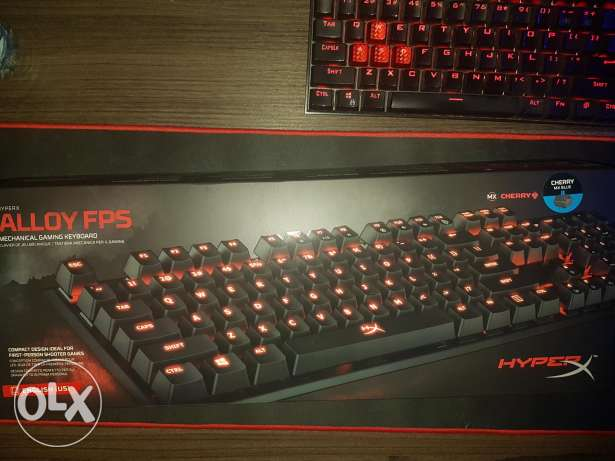 HyperX ALLOY FPS Cherry MX Blue Mechanical Gaming Keyboard